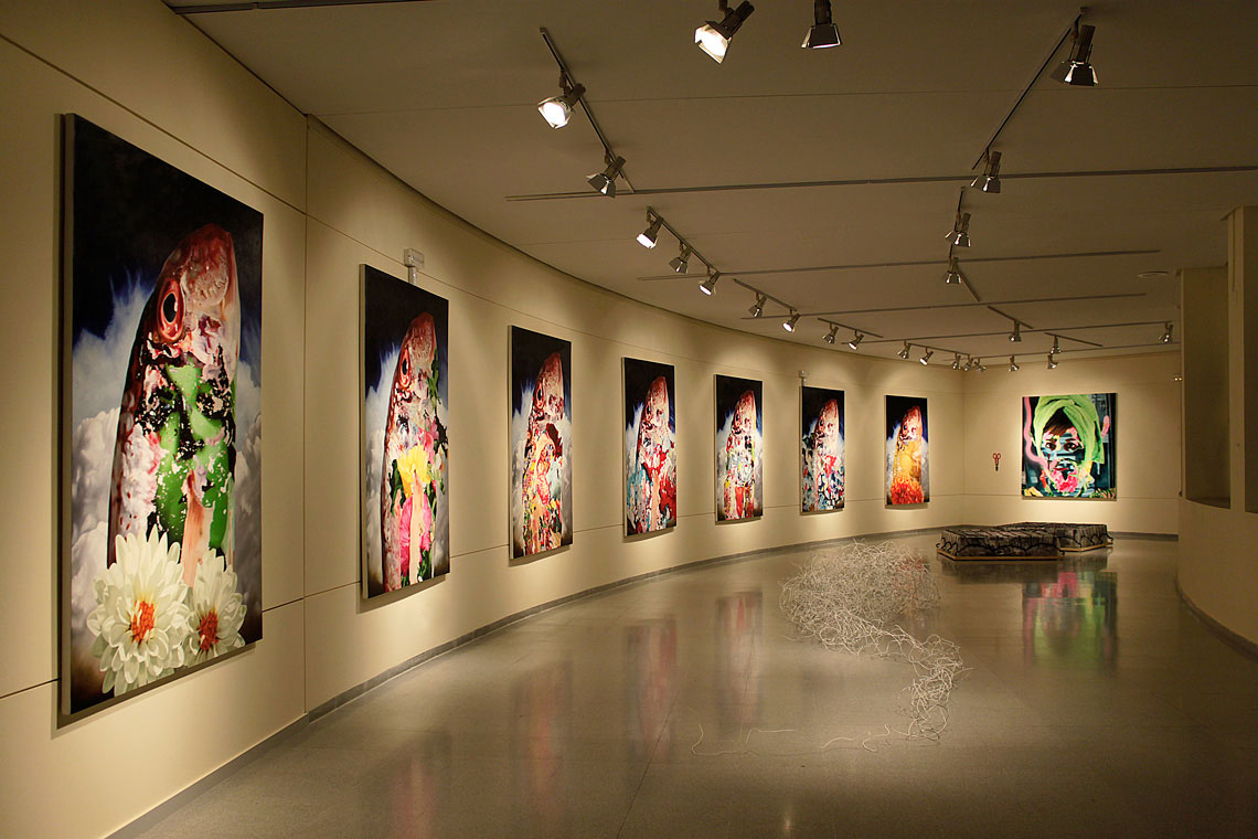oil paintings - exhibition - roberto lópez