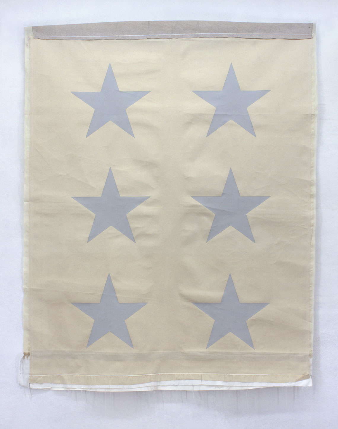 gray stars on a flag